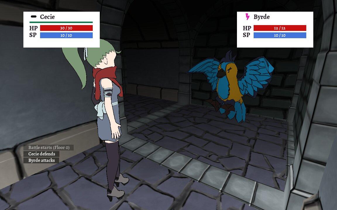 Screenshot of Labyrinth of Nocri