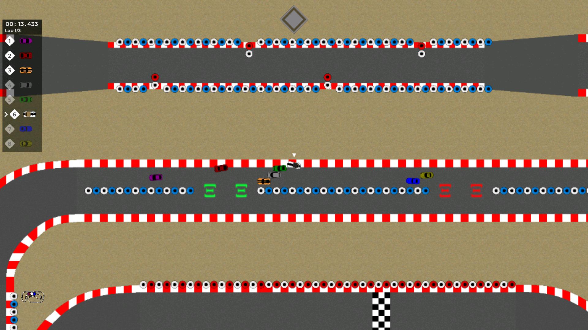 Screenshot of The Race Factory