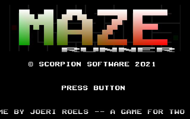Screenshot of Maze Runner