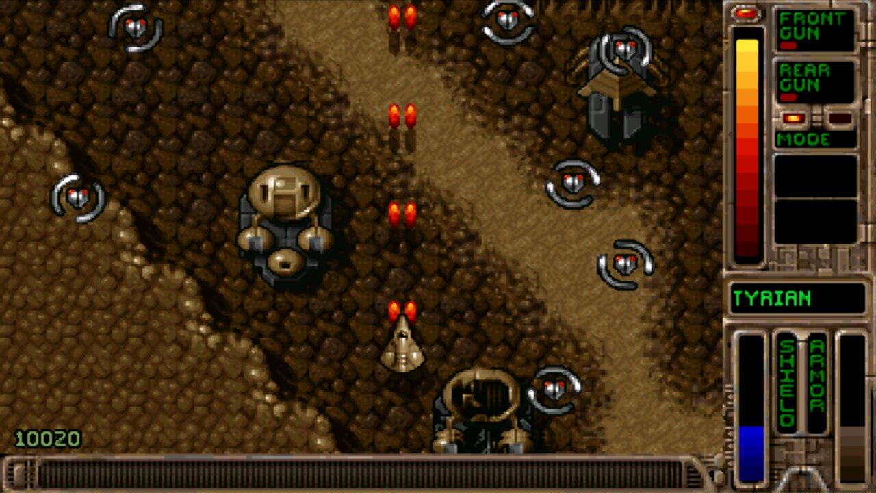 Screenshot of Open Tyrian