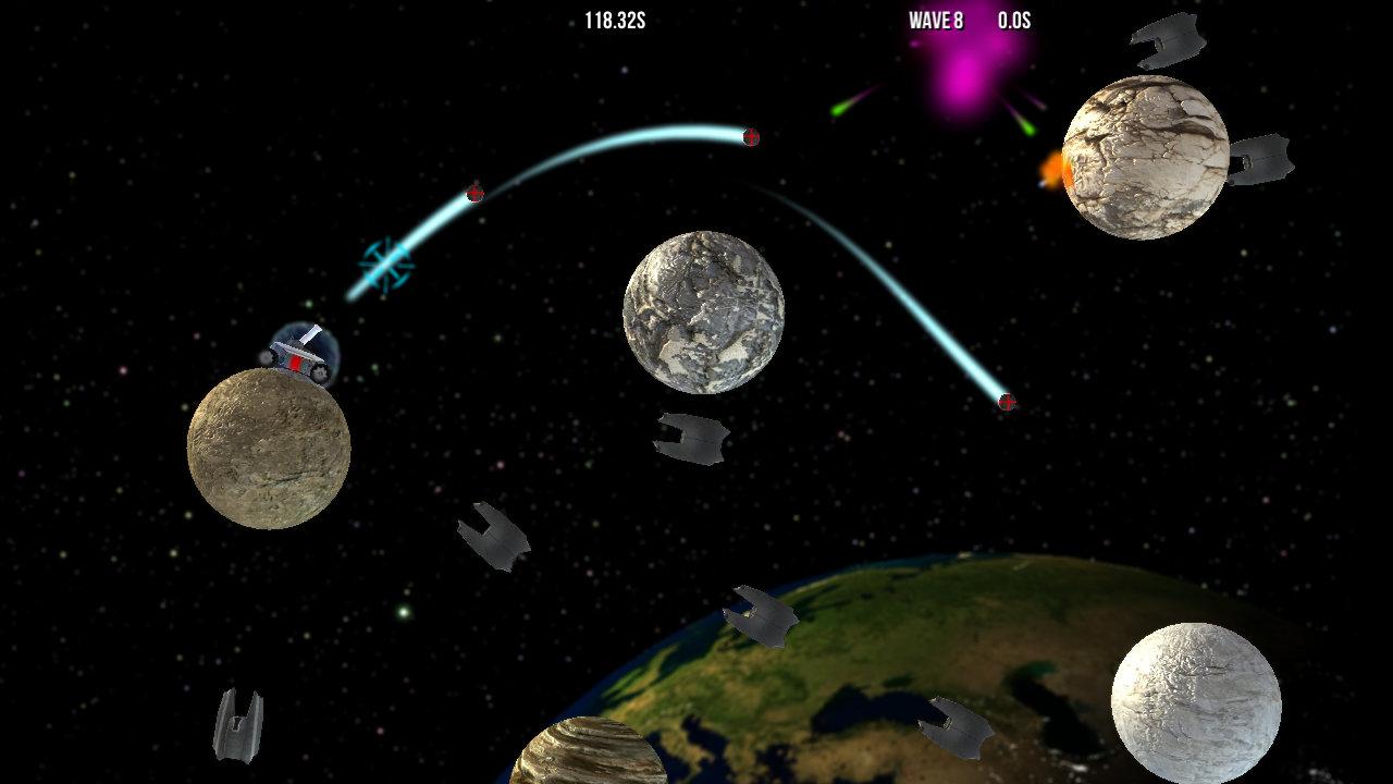 Screenshot of Gravitanks