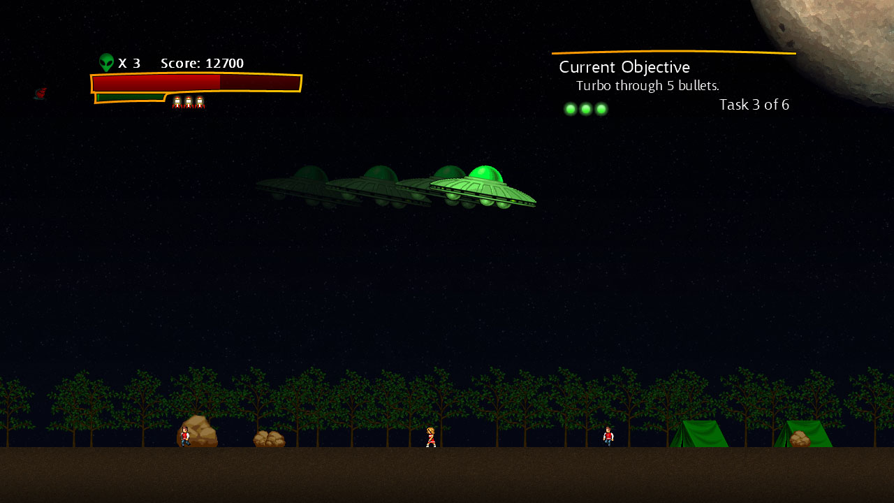 Screenshot of Abduction Action!