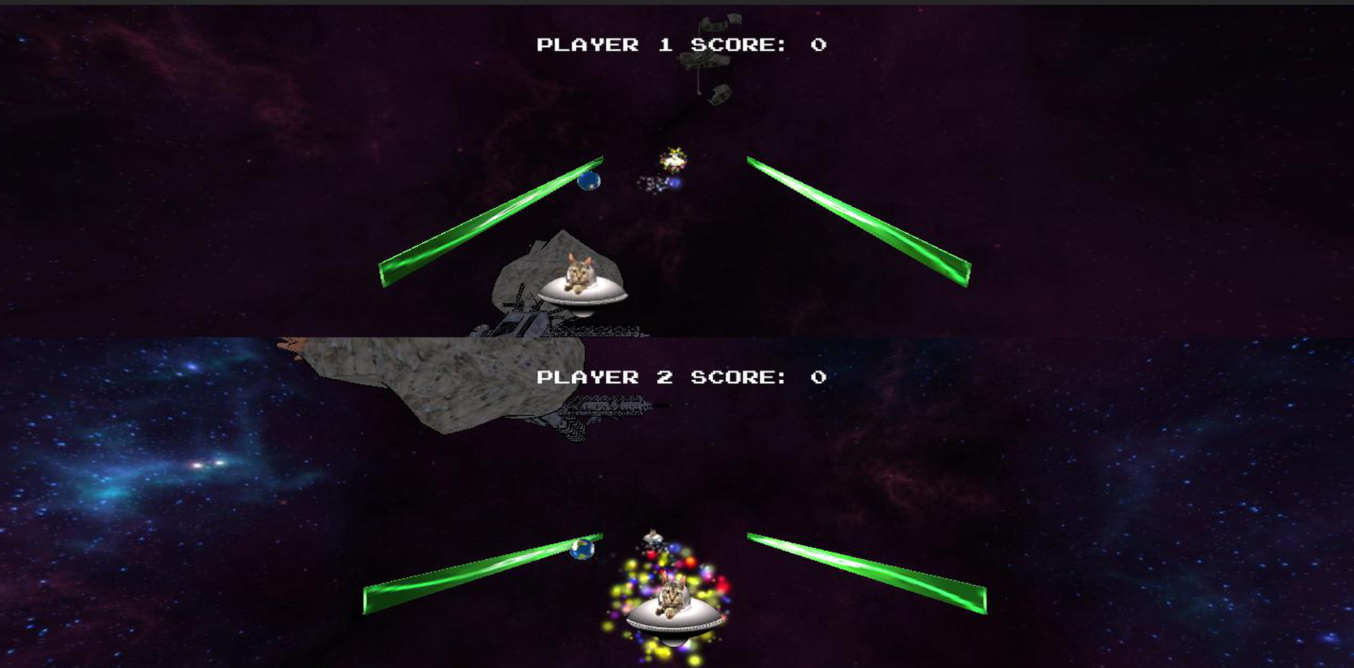 Screenshot of Invaders Pretty Sure From Outer Space - Round 2
