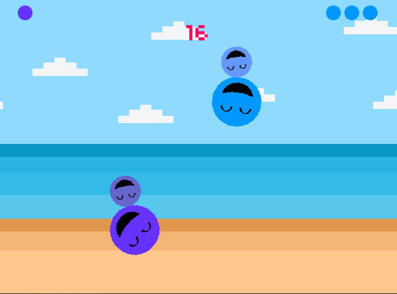 Screenshot of A Ball Slapping Good Time!