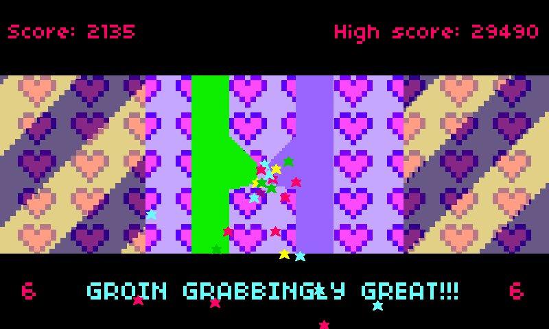 Screenshot of Groin Gravitators