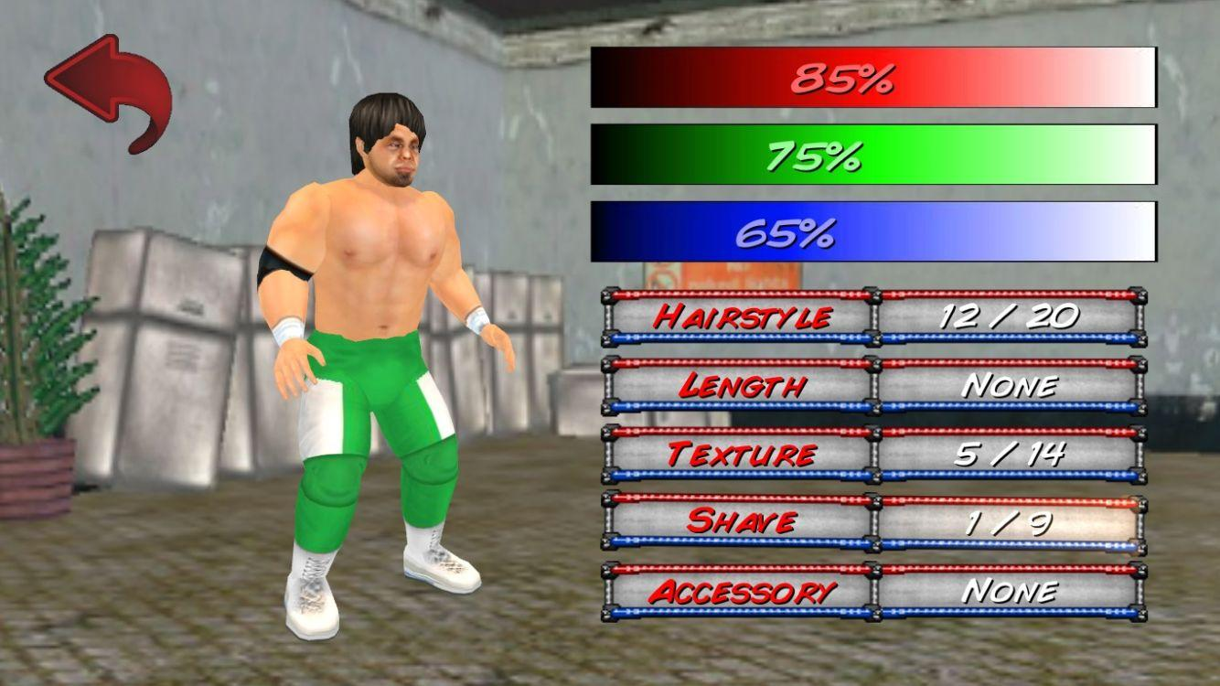Screenshot of Wrestling Revolution 3D