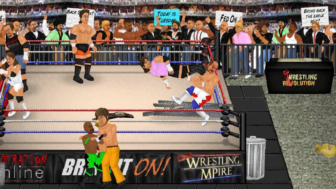 Screenshot of Wrestling Revolution