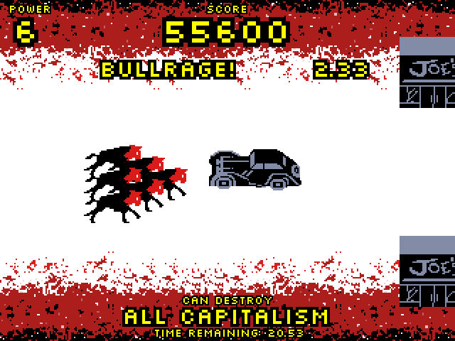 Screenshot of Bullfist