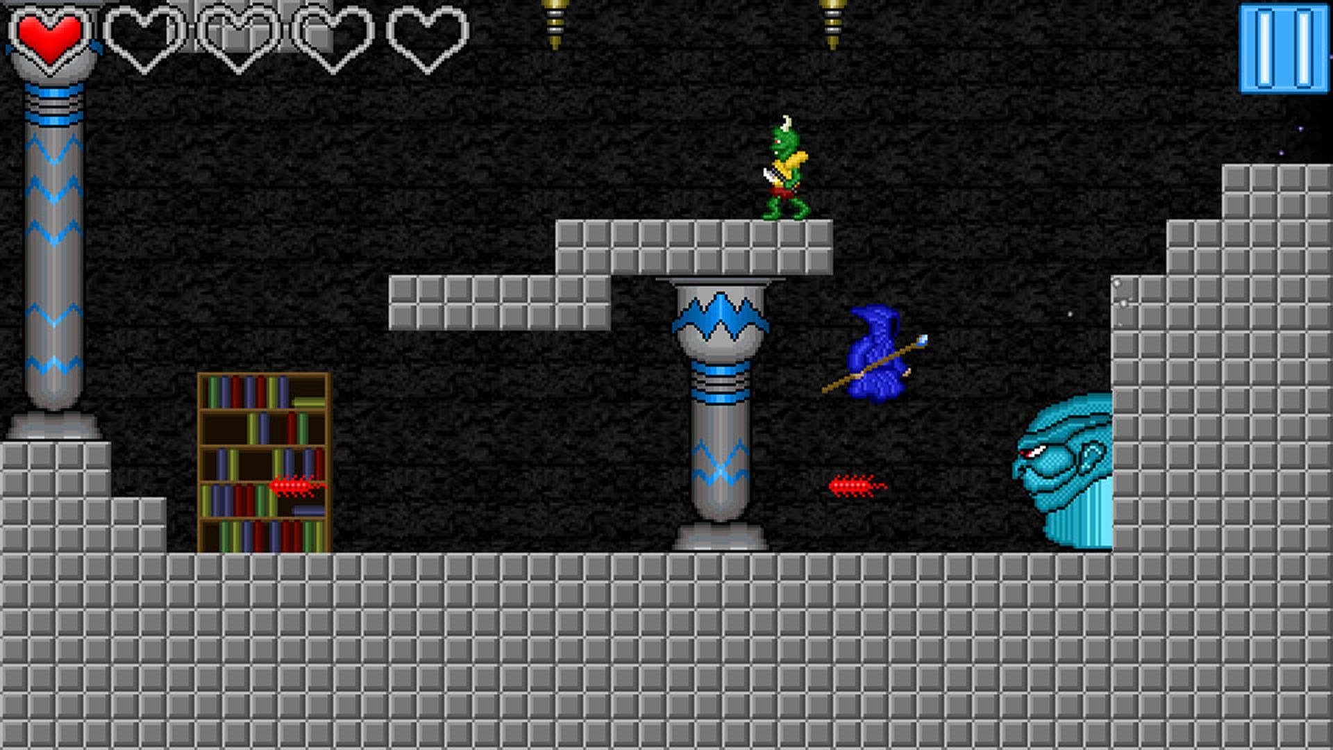 Screenshot of Pixel Staff