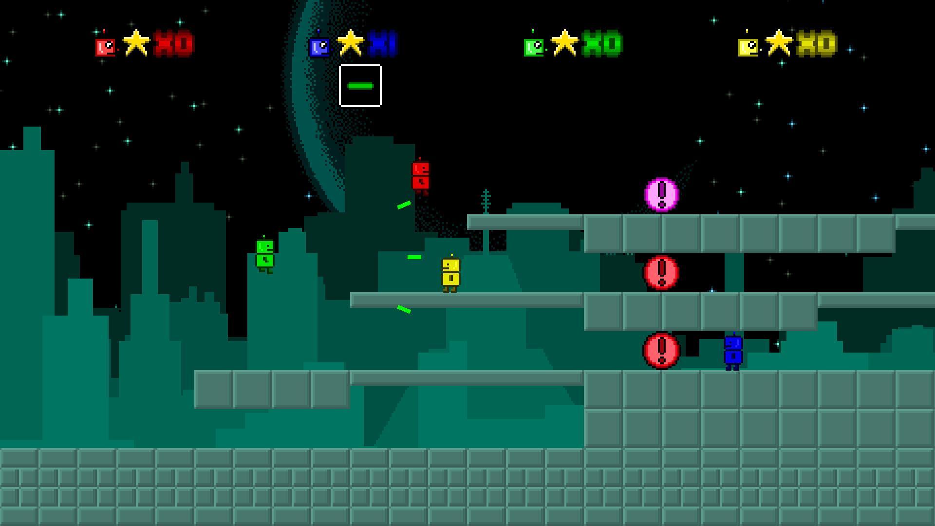 Screenshot of Retro Robits