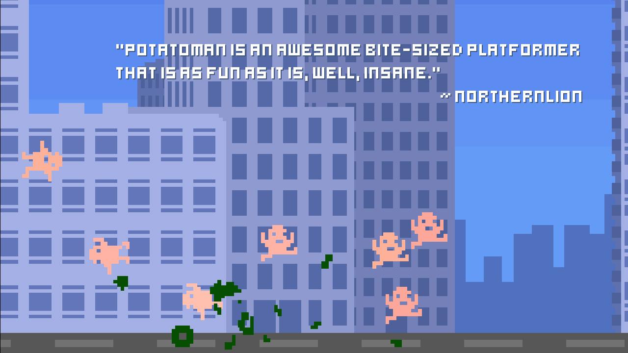 Screenshot of Potato Man Seeks the Troof