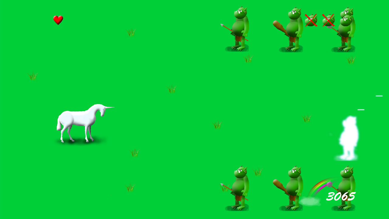 Screenshot of Unicorn Defender