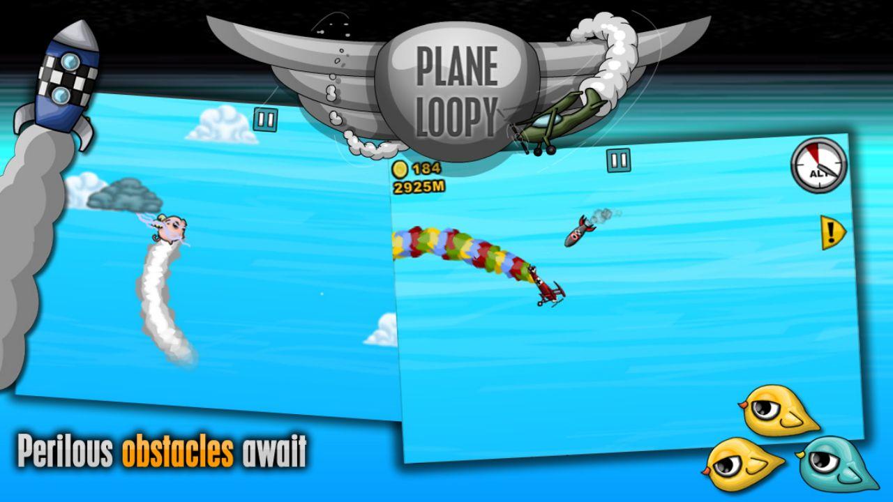 Screenshot of Plane Loopy OUYA