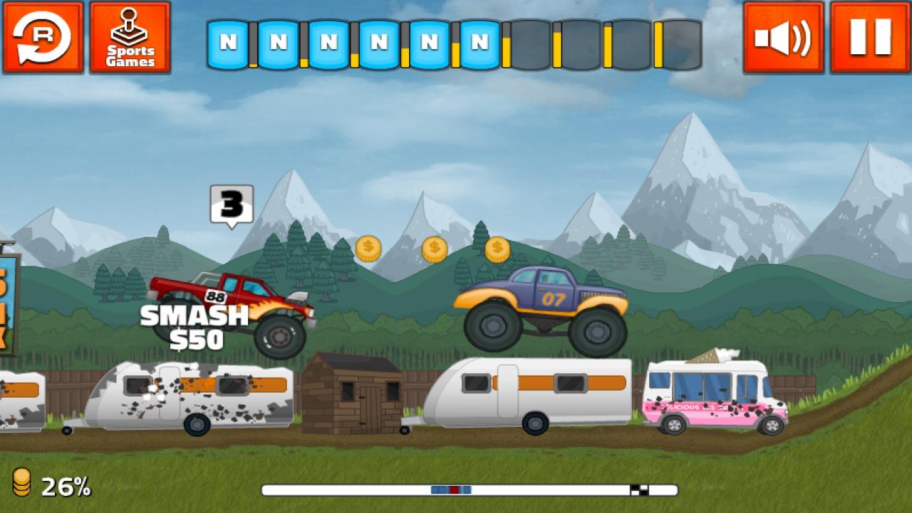 Screenshot of Grand Truckismo