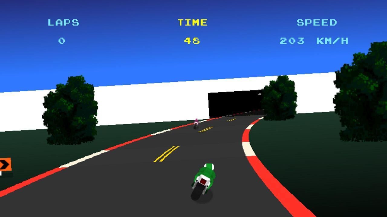 Screenshot of Thunder Desert GP