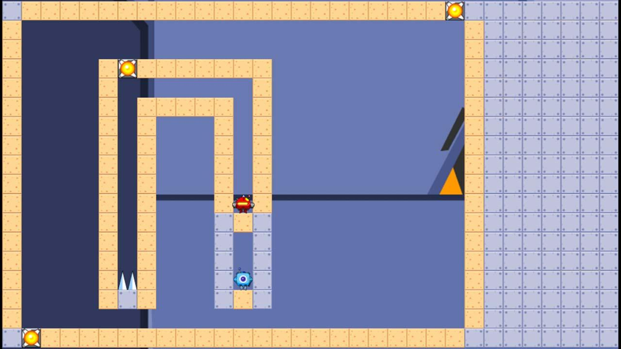 Screenshot of GraviBots