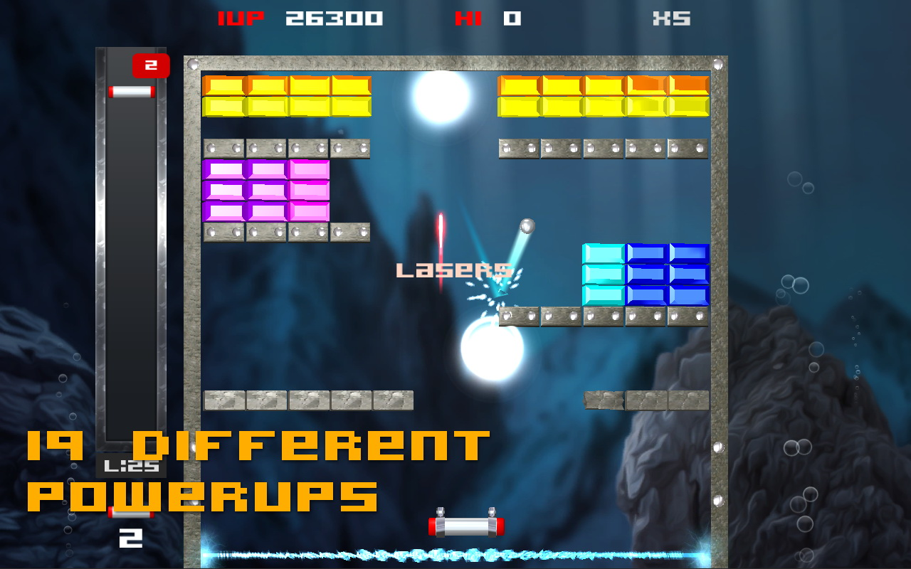Screenshot of Brick Break Blitz