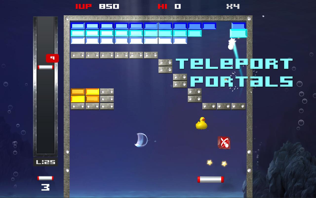 Screenshot of Brick Break Blitz