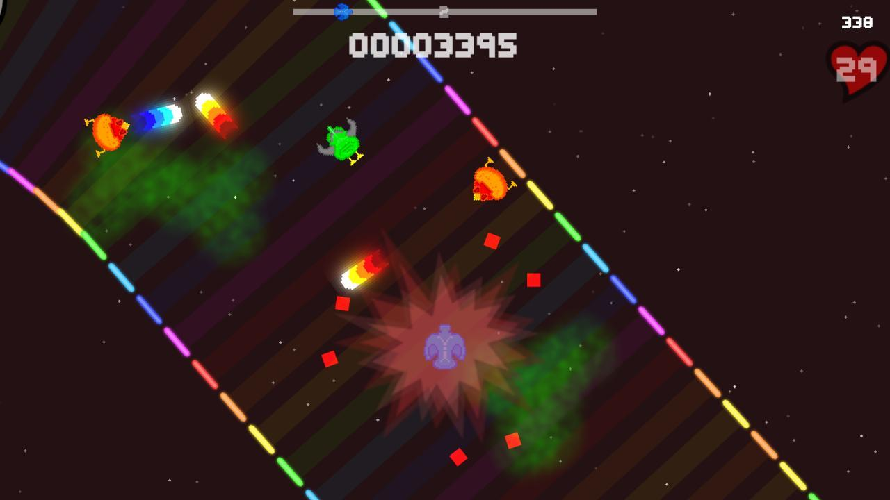 Screenshot of BlastTrax