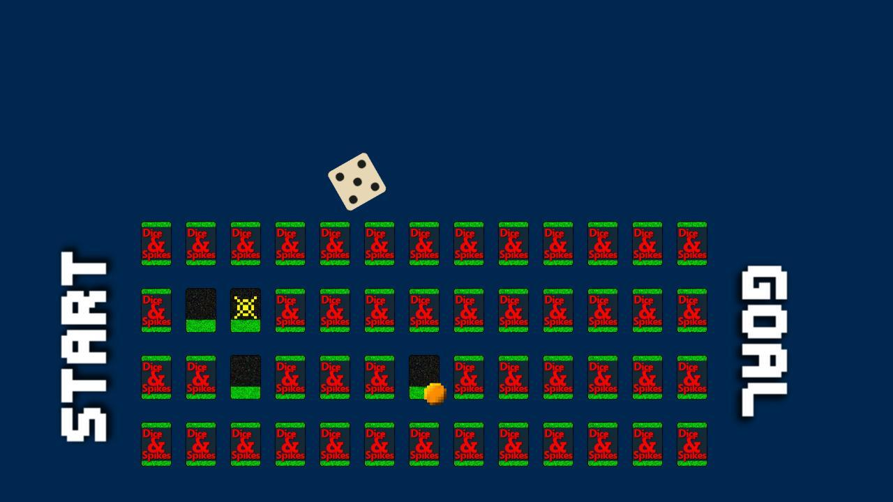 Screenshot of Dice and Spikes