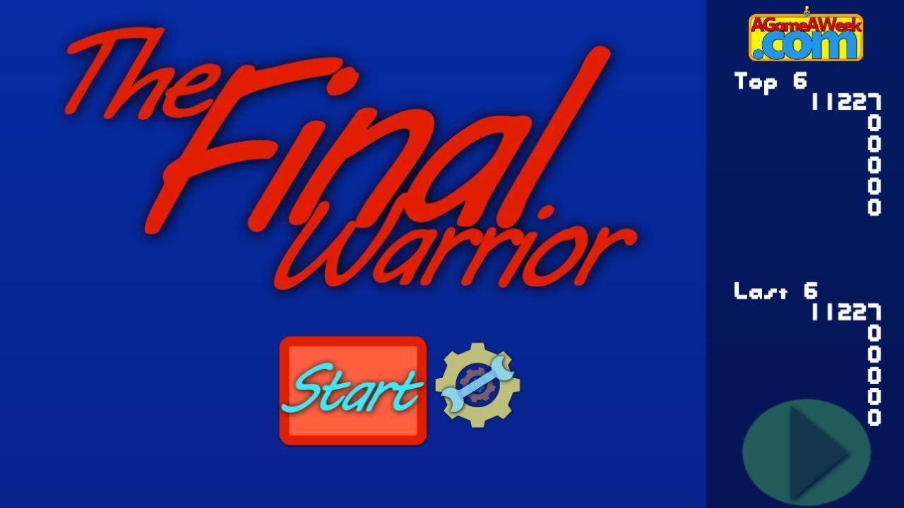 Screenshot of The Final Warrior