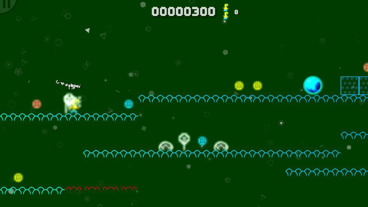 Screenshot of NeonPlat's Cosmic Adventure