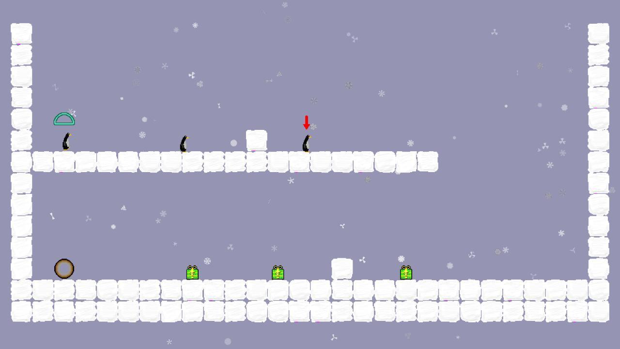 Screenshot of Penguin Parade