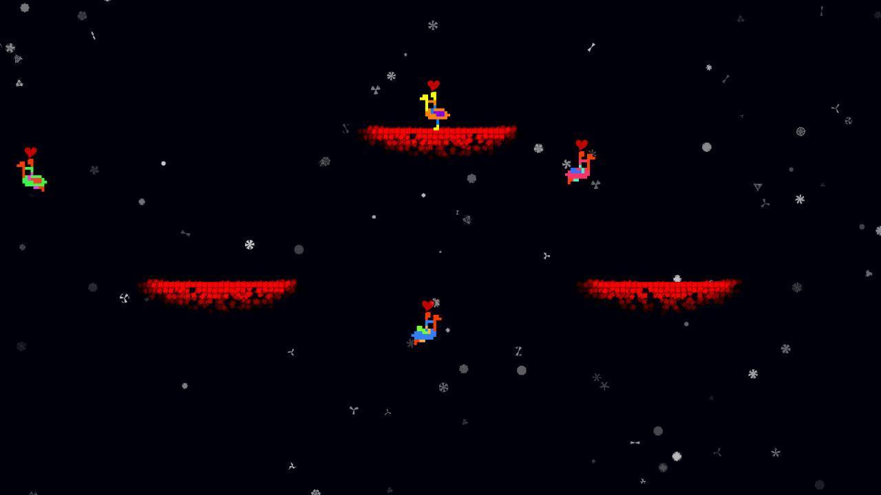 Screenshot of Platdude in Battling Ostriches