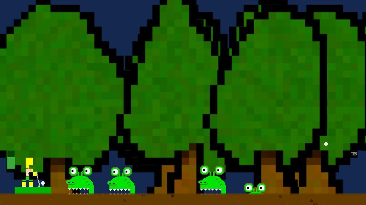 Screenshot of Platdude in Swamp Golf