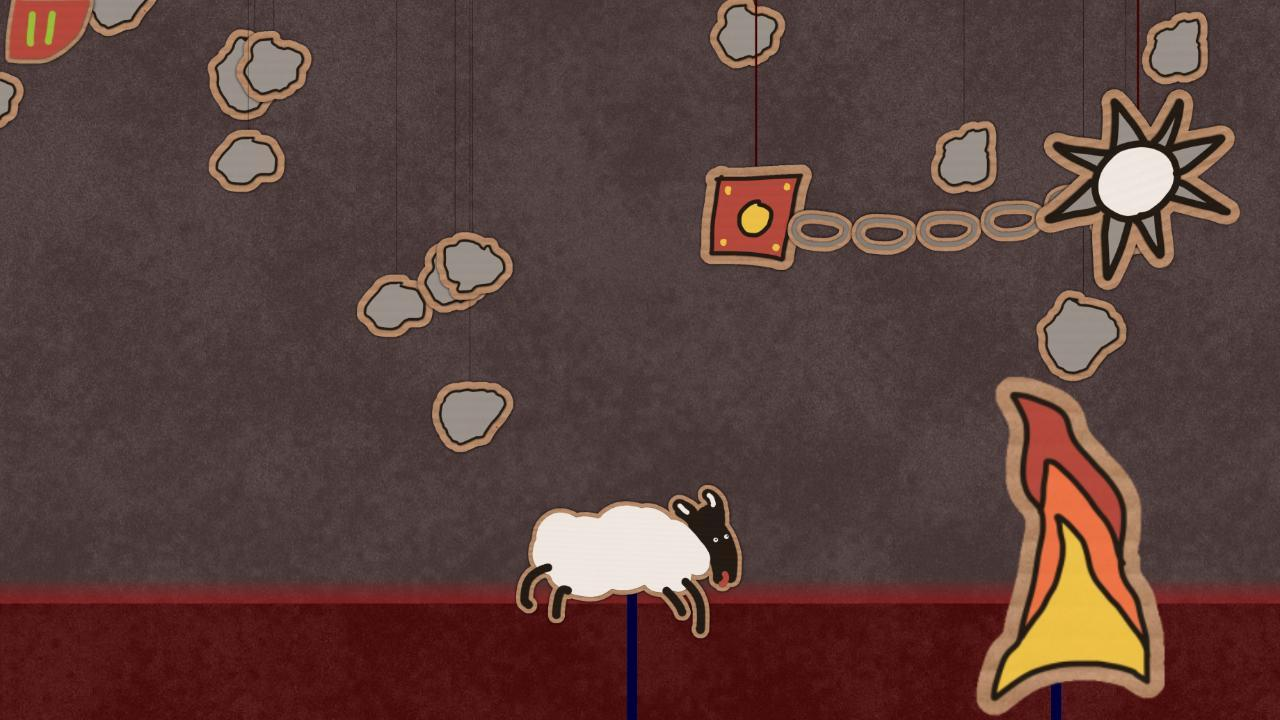 Screenshot of Sheep Goes Right