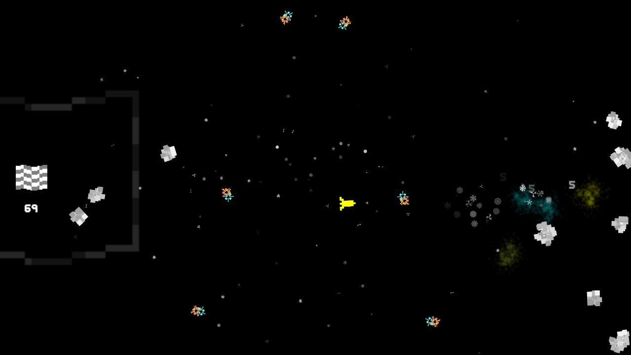 Screenshot of Extreme Space Debris Insanity