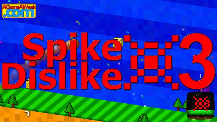 Screenshot of ../game/com.AGameAWeek.SpikeDislike3_I15.htm
