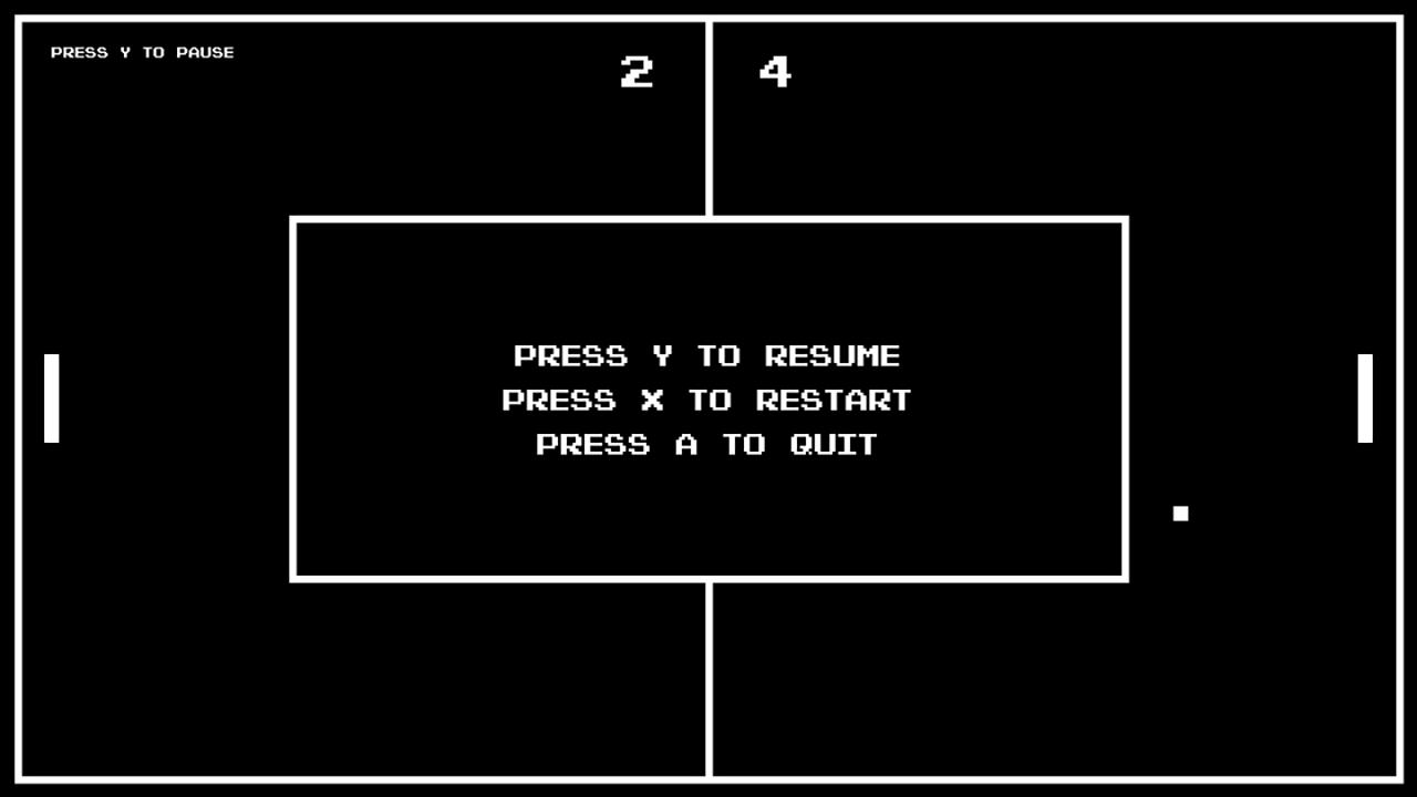 Screenshot of Retro Pong