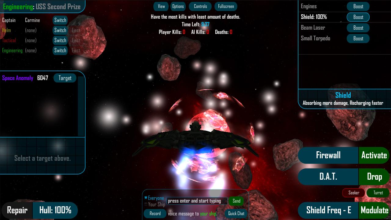 Screenshot of Quintet