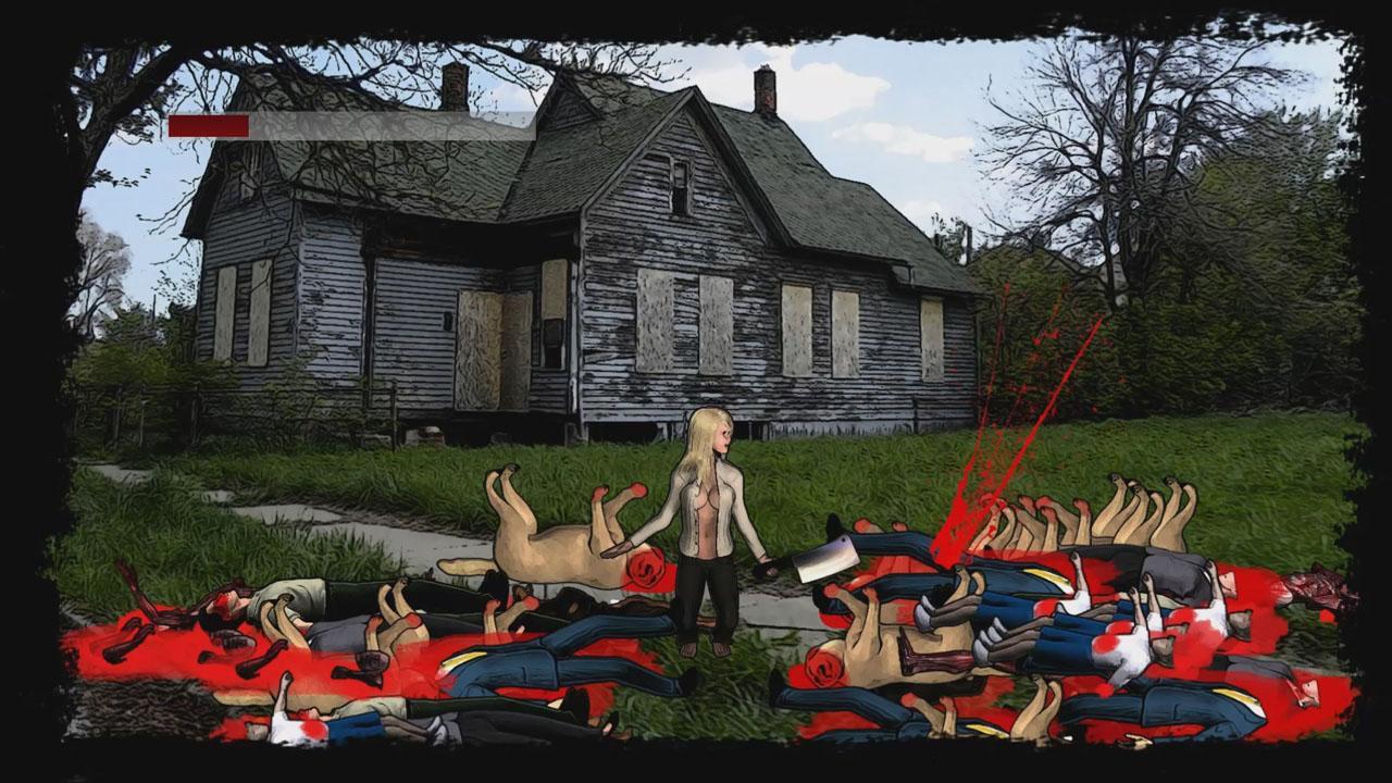 Screenshot of Massive Cleavage vs Zombies