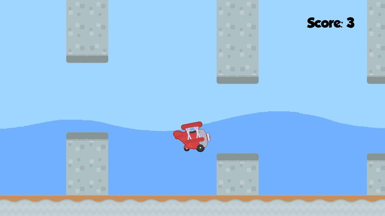 Screenshot of Flappy Plane