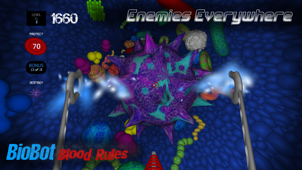 Screenshot of BioBot: Blood Rules