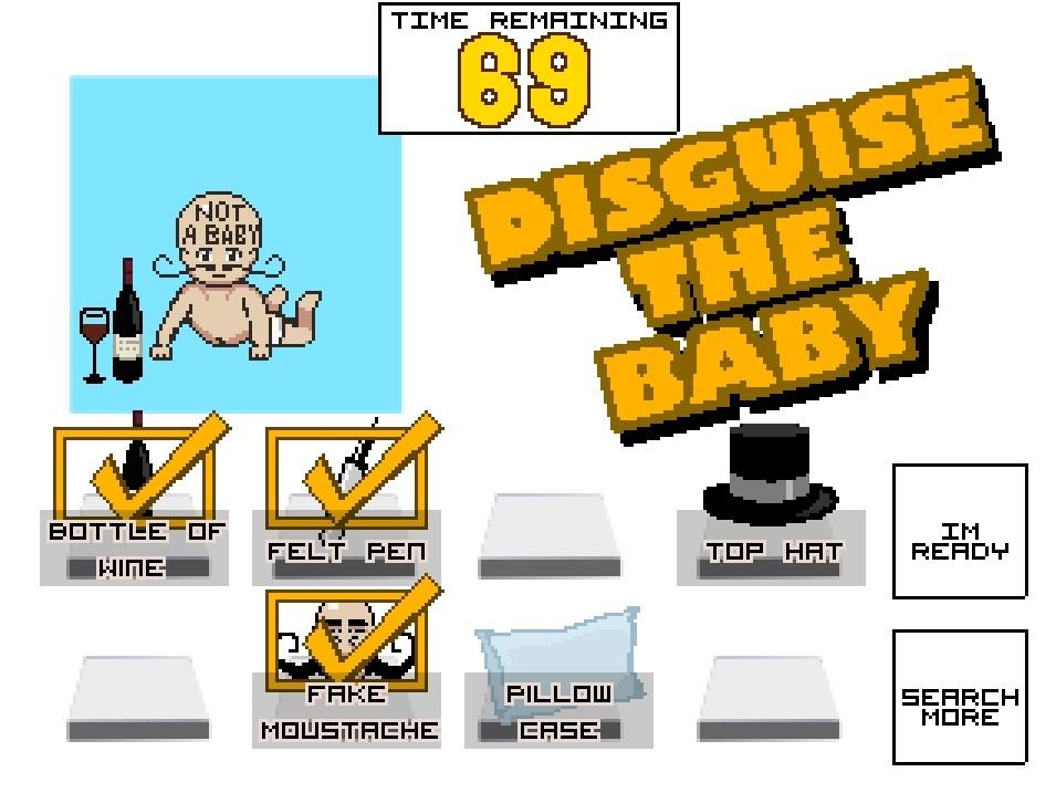 Screenshot of Hide The Baby