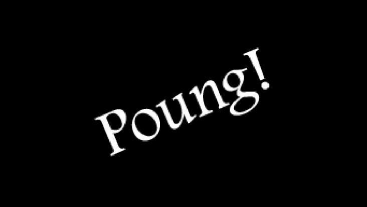 Screenshot of Poung!