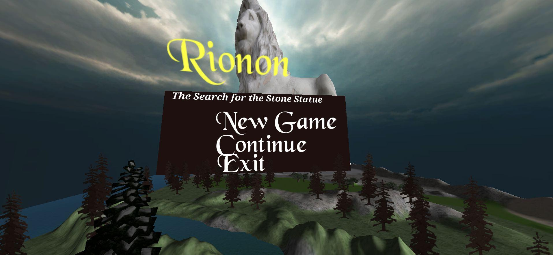 Screenshot of Rionon: The Search for the Stone Statue