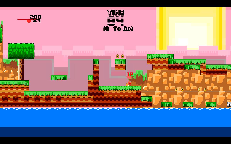 Screenshot of 8Bit Ninjas