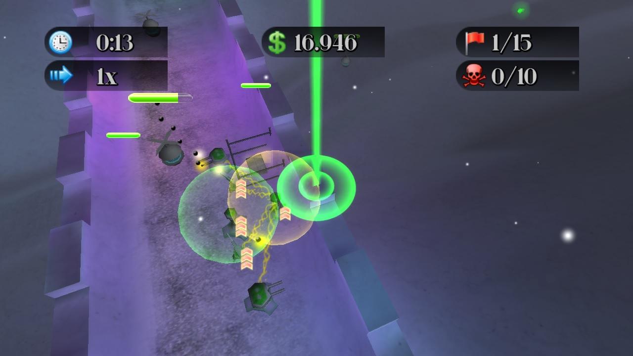 Screenshot of Isle Defender