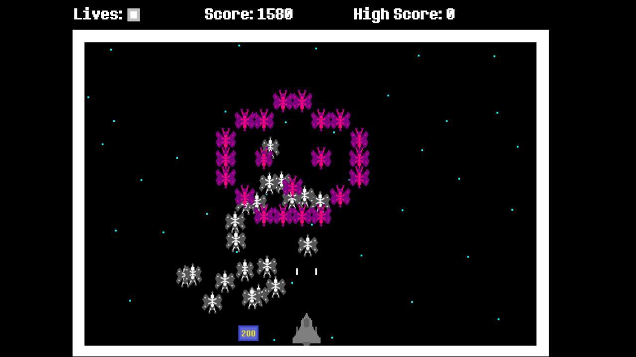 Screenshot of Space Vermin DEMO