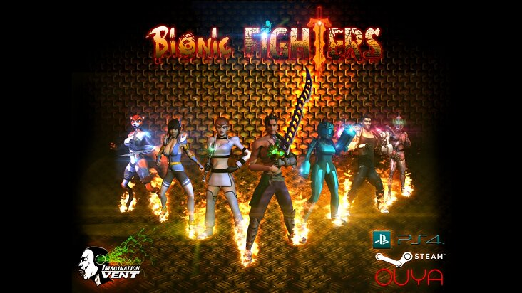 Screenshot of ../game/com.ImaginationVent.BionicFighters.htm