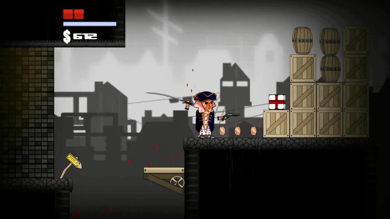 Screenshot of Washington Vs Zombies