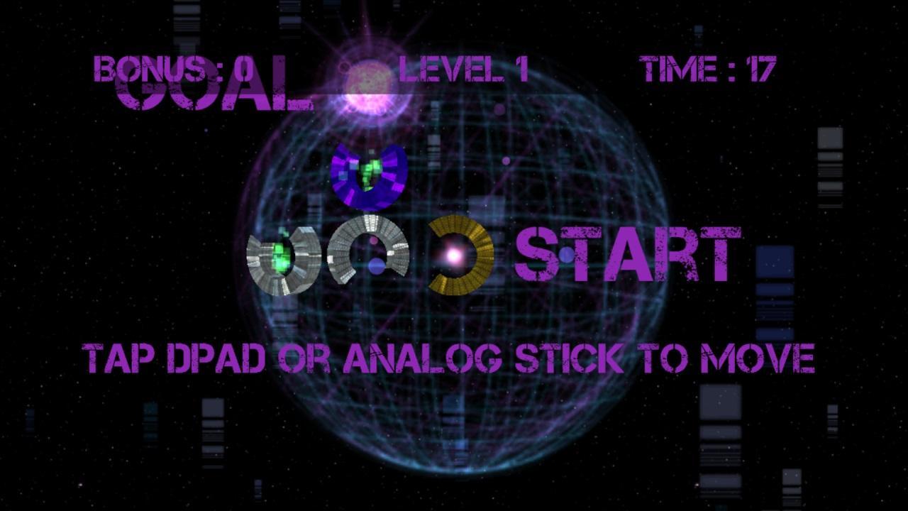 Screenshot of Dark Space Rings