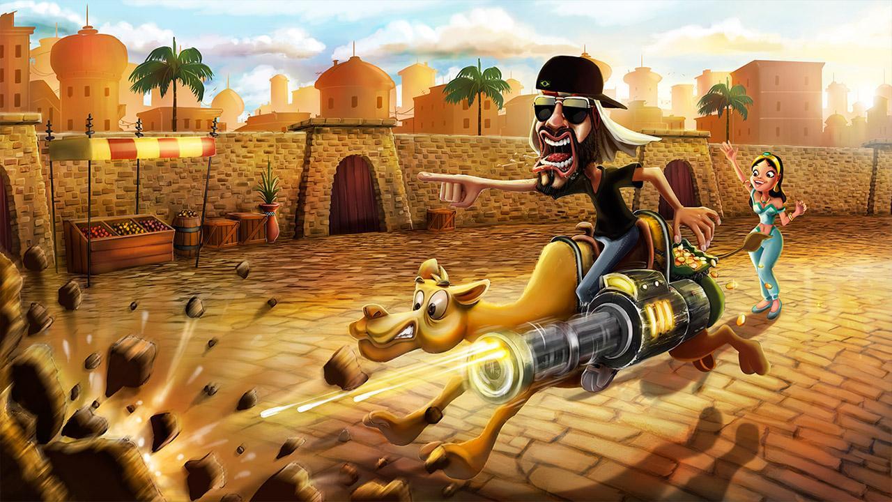 Screenshot of Mussoumano Game