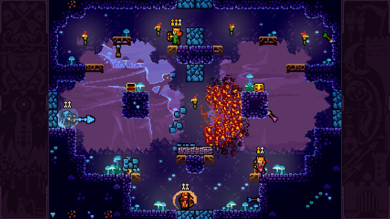 Screenshot of TowerFall Ascension