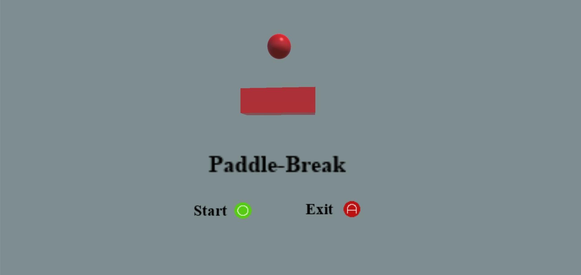 Screenshot of Paddle-Break