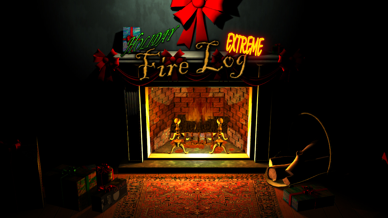 Screenshot of Holiday Fire Log Extreme